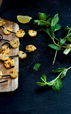 Guest by Reem of Simply Reem : Grilled Shrimp – Tandoori Style