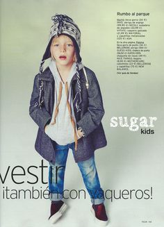 Marti de Sugar Kids para Telva