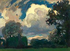 Jan Stanisławski Cloud, 1903