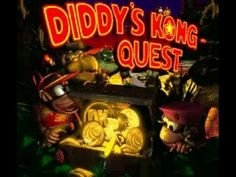 TOP 6 SUPER NINTENDO   DONKEY KONG COUNTRY 2  DIDDY´S KONG QUEST RARE WA...
