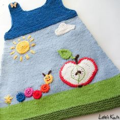 Examples of knitting decoration art Examples of knitting decoration art History of Knitting String rotating, weaving and sewing careers such as for instance. How To Start Knitting, Knitting For Kids, Baby Knitting Patterns, Baby Patterns, Knitting Projects, Crochet Projects, Hand Knitting, Crochet Patterns, Baby Vest