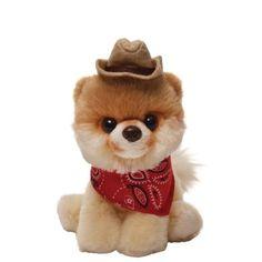 Enesco 4040350 Peluche Boo Cappello da Cowboy, Peluche Gund, 13 cm