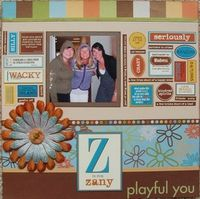 A Project by tri_mommy from our Scrapbooking Gallery originally submitted 11/13/06 at 04:43 PM