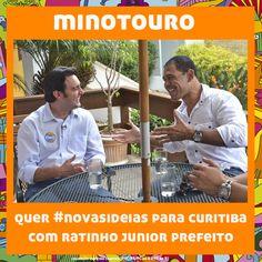 O Minotouro também já faz parte da #onda20.  #equipenovasideias