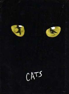 Cats 1982 Broadway production Vintage Souvenir Program  Original Souvenir Program  (Enter01a)