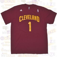 CLEVELAND CAVALIERS 1 OFFICIAL ADIDAS MENS NBA JERSEY BURGANDY T-SHIRT  #Tshirt #NBA #Adidas #Cavs #ClevelandCavaliers
