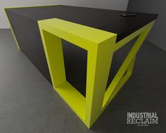 Portal Desk.  Clean, Modern, Different. IndustrialReclaim.com