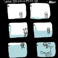 How depression really feels. I find this to be quite accurate