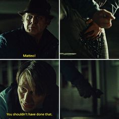 You shouldn't have done that. Hannibal 2x12 Tome-wan
