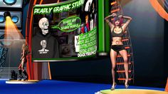 DEADLY GRAPHIC STUDIO DANCEING GIRLS ''MUST SEE''
