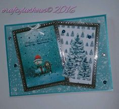 Hard to get a decent photo with the mirror card so apologies for that Craft Papers, Dec 8, Making Cards, Free Paper, Bestfriends, Handmade Crafts, Paper Crafts, Mirror, Instagram Posts