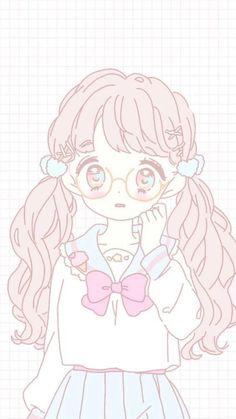 Marvelous Learn To Draw Manga Ideas. Exquisite Learn To Draw Manga Ideas. Dibujos Anime Chibi, Chibi Anime, Manga Anime, Anime Art, Kawaii Anime Girl, Loli Kawaii, Anime Girl Pink, Wallpaper Sky, Handy Wallpaper
