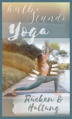 Yoga gegen Rückenschmerzen - Verspannungen lösen in 30 Minuten Yoga ist ein Wundermittel um Rückenschmerzen und Verspannungen erfolgreich zu bekämpfen. Die gezeigten Übungen stärken euren ganzen Körper und verbessern vor allem die Haltung.