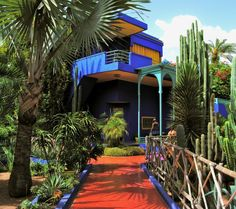 Majorelle Garden and Yves Saint Laurent's Villa in Marrakech ...