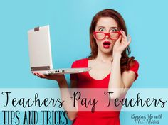 Teachers Pay Teachers Tips and Tricks - Find out a few of my favorite tips and tricks for selling on Teachers Pay Teachers.  Learn what I think is important for growing your business.   Make sure to sign up for my newsletter while you are visiting keepingupwithmrsharris.com