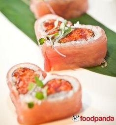 Sushi time, пандички!  Поръчайте обяд от Sushi Del Mar, само във Foodpanda!
