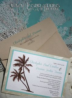 Hey, I found this really awesome Etsy listing at https://www.etsy.com/listing/151747461/beach-wedding-invitations