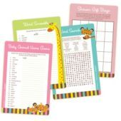 Fisher Price Baby Shower Games Kit - Party City