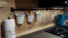 12 Simple Ice Fishing House Organization Ideas – Vanchitecture – Famous Last Words Ice Fishing Huts, Ice Fishing Sled, Ice Fishing Gear, Fishing Shack, Fishing Tent, Fishing Stuff, Fishing Gifts, Fishing Rods, Ice Fishing Shanty