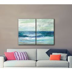 Shop for ArtWall Silvia Vassileva's Tide, 2 Piece Gallery Wrapped Canvas Set. Get free delivery at Overstock.com - Your Online Art Gallery Store! Get 5% in rewards with Club O!