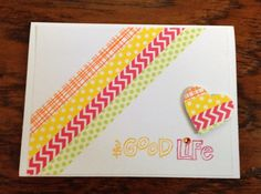 Handmade Paper The Good Life Any Occasion by Scrapbooker429, $3.75  https://www.etsy.com/listing/193684706/handmade-paper-the-good-life-any