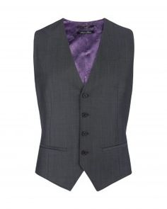 Ted Baker vest - unfortunately its purple silk on the back side.