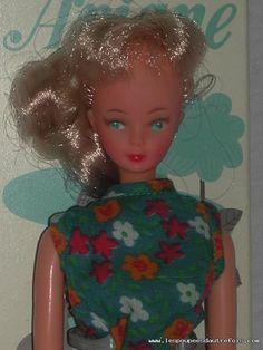 Rare poup e mannequin de 24cm de la chanteuse sheila de - Barbie chanteuse ...