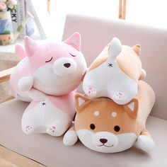 36cm Cute Fat Shiba Inu Dog Plush Toy Stuffed Soft Kawaii Animal Carto – SQUISHY Delites #shibainu