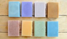 Herbs, Minerals, Micas, Flowers, & other ways to naturally color handmade soap. Includes natural soap colors listed by color, ingredient, how to use them.