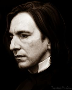 Professor Snape by Takehiko Yoshiro - she used to have a DeviantArt account where I originally found this beautiful piece of artwork. My link no longer works and I cannot find her. If you do, let me know.