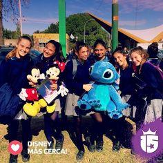 Se acercaaaa #Disney! Las chicas del Liceo lo saben! Así está el #promoTeam2016!#Enjoy15 #Transatlántica