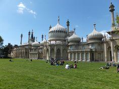 Brighton: Garten vom Royal Pavillon