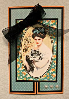 Her Peaceful Garden: All You Need is Love...And a Cat! Cat Lovers Hop Day 1
