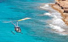 #rotorflug #helicopter have an amazing time flying over #Mallorca www.sonjulia.com