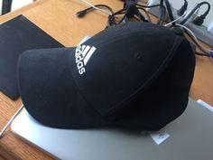 c953eb82762 ADIDAS ORIGINALS Black White TREFOIL RELAXED ADJUSTABLE STRAPBACK HAT CAP  OSFM  fashion  clothing