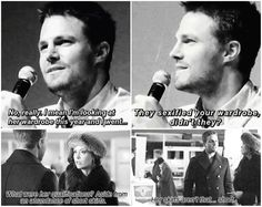 Haha I see what you did there Stephen. #Olicity