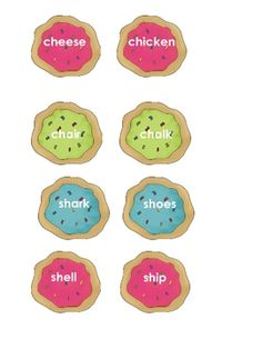 131-140 Matches digraphs to beginning sounds (/ch/, /sh/, /wh/)