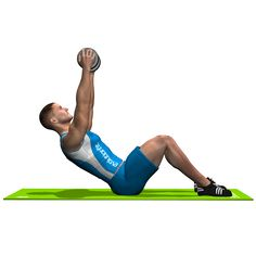 DUMBBELL SIT UP  INVOLVED MUSCLES DURING THE TRAINING ABDOMINALS