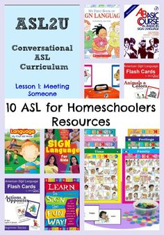 10 Resources to Teach American Sign Language for Homeschoolers #education