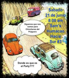 21 de junio de 2014  Puerto Rico  El Pulguero de los Volkys  humacao, Sams   van, westfalia, volky,