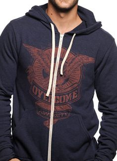 Mens Hoodie  Tee sevenly.org supporting laura's house to silence domestic abuse