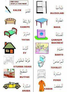 Arabic Sentences, Arabic Phrases, Arabic Words, Learn Arabic Online, Write Arabic, Learn Arabic Alphabet, Turkish Lessons, Arabic Lessons, Alphabet