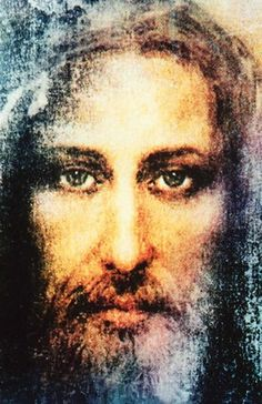Ariel Agemian's Christ Painting based on the Shroud of Turin Jesus Our Savior, Who Is Jesus, Jesus Is Lord, Jesus Loves, Pictures Of Christ, Jesus Christ Images, Real Image Of Jesus, Saint Suaire, Mary Magdalene And Jesus