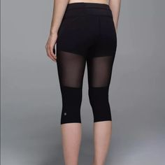 NWT Lululemon tough training crops sz4 Brand new and sold out!!!! lululemon athletica Pants Leggings