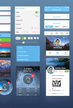 Awesome UI Kit - 365psd