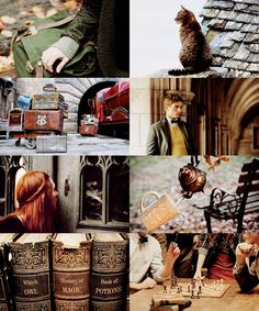 """ Hogwarts School of Witchcraft and Wizardry "" 1/2"