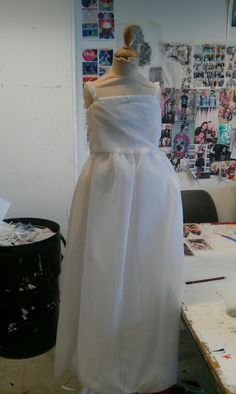 Dress 2 before skirt was attached