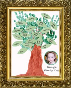 preschool family tree