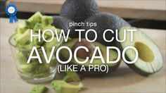 Thanks to the Just A Pinch Test Kitchen, you can easily cut an avocado like a pro!