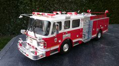 Trumpeter, American LaFrance Eagle in service at the College Park Fire Department, Scale 1/25
